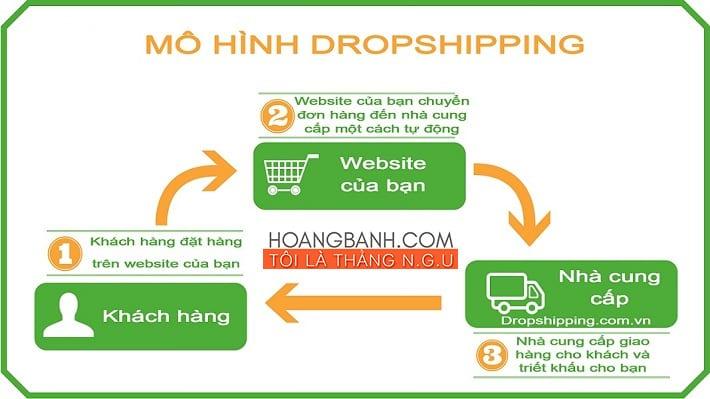 kiếm tiền với dropshipping kiếm tiền trên mạng
