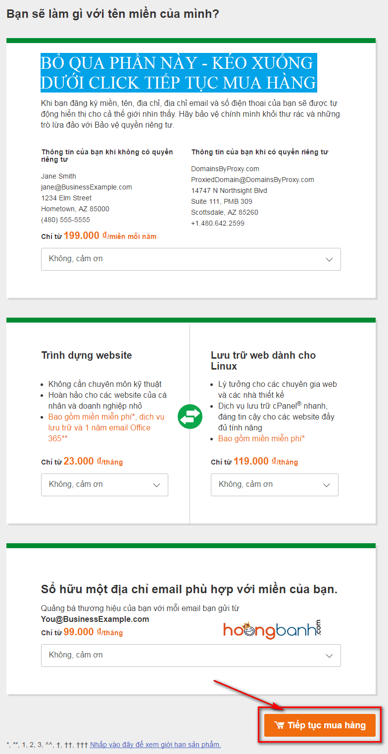 huong dan mua ten mien godaddy.com hướng dẫn mua tên miền tại godaddy Mua tên miền .COM chỉ $1.17 tại GoDaddy mua ten mien godaddy3
