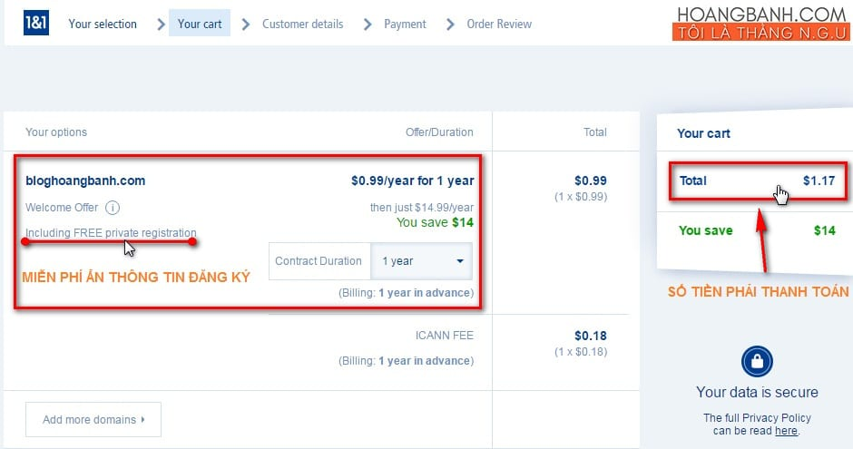 mua-ten-mien-tai-1and1-com3 mua tên miền tại 1and1 Hướng dẫn mua tên miền tại 1and1.com giá $1.17/năm mua ten mien tai 1and1