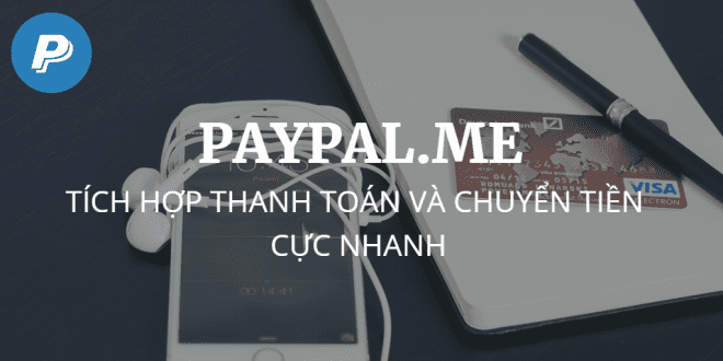tao link paypal.me thanh toán