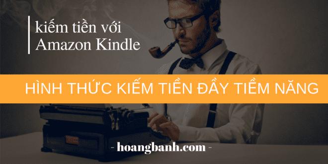 kiếm tiền với Amazon Kindle