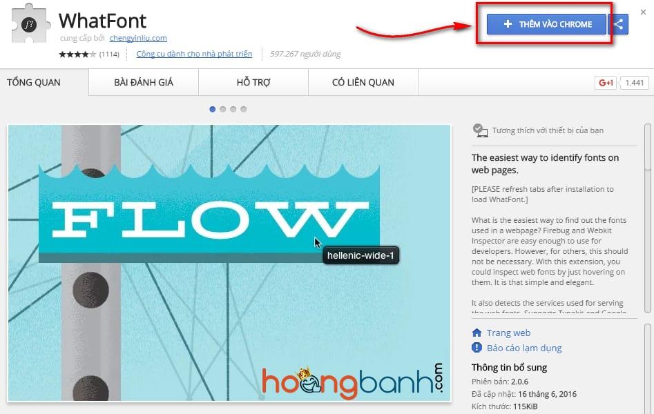 xac dinh font chu cua mot trang web cài đặt font chữ đẹp cho blog wordpress
