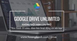 Tài khoản Google Drive Unlimited – Không giới hạn lưu trữ