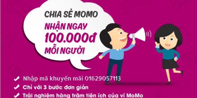 Kiếm tiền 100.000đ và nhiều hơn thế với ví MoMo