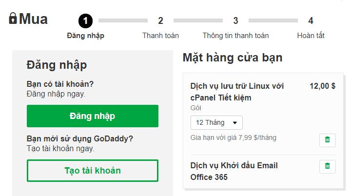 huong dan dang ky hosting godady  godaddy Bắt đầu tạo Blog Wordpress với Hosting Goddady chỉ $1/tháng + Tặng tên miền miễn phí huong dan dang ky hosting godady 10