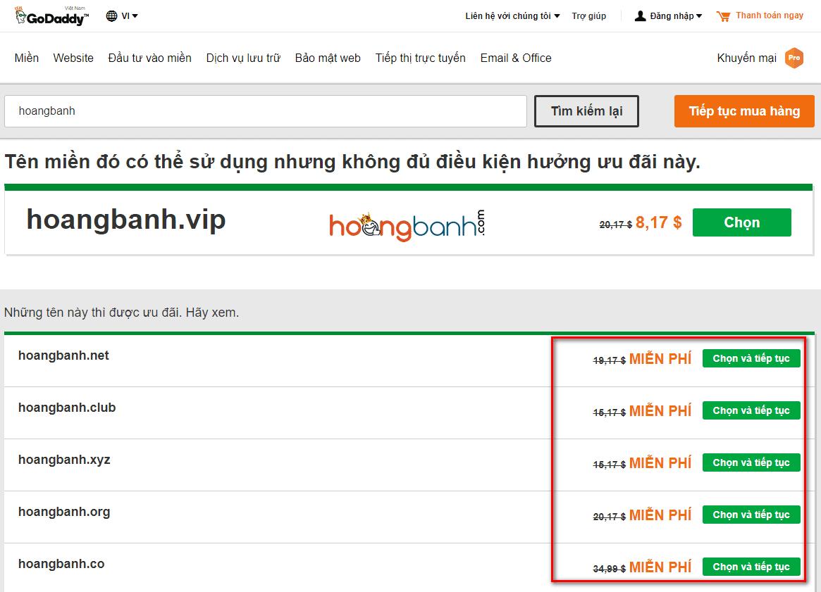 huong dan dang ky hosting godady 2 godaddy Bắt đầu tạo Blog Wordpress với Hosting Goddady chỉ $1/tháng + Tặng tên miền miễn phí huong dan dang ky hosting godady 3